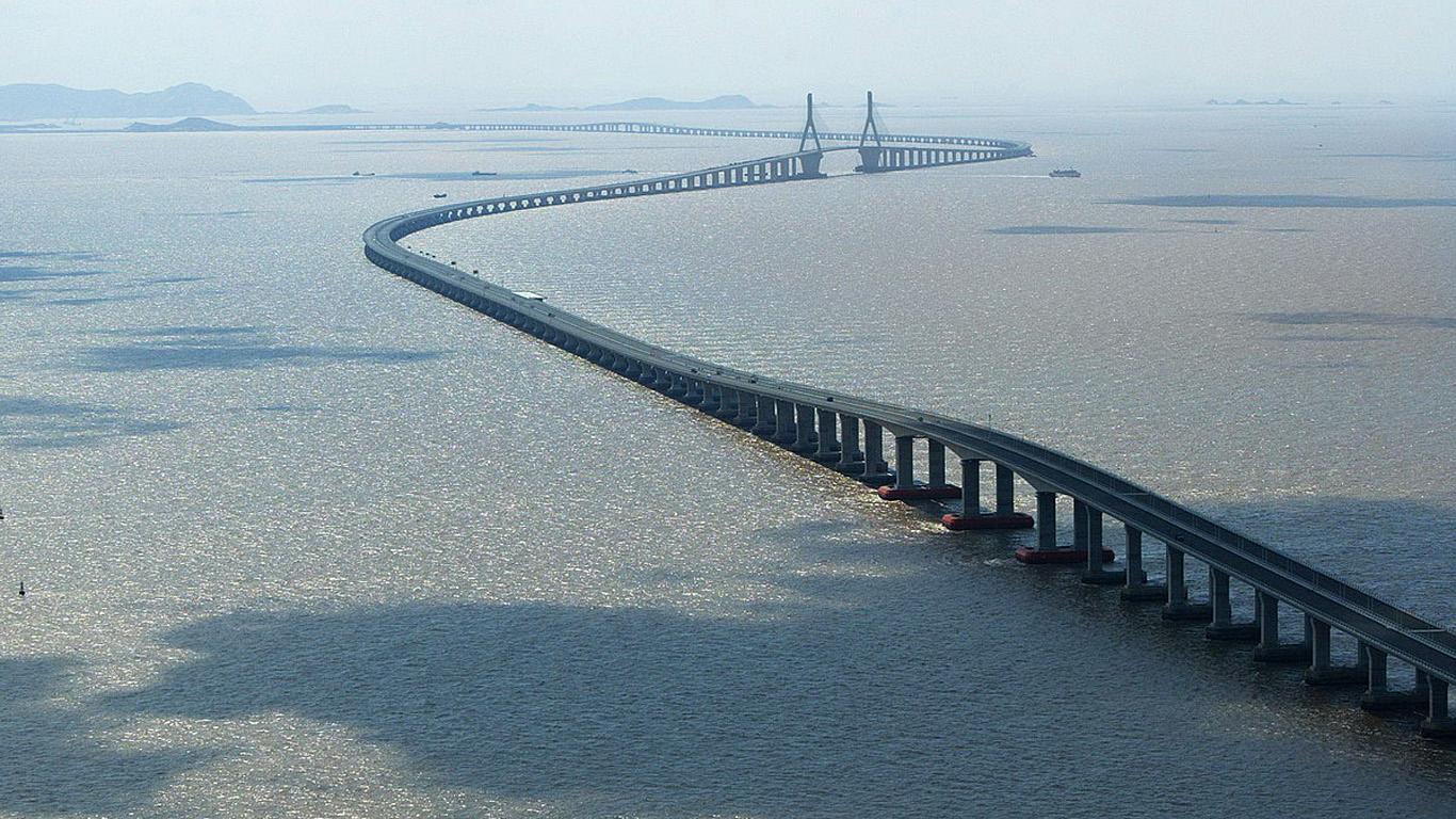 Дуга моста Ханчжоу Бэй